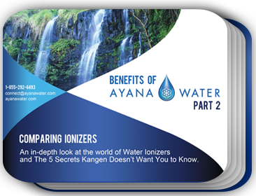 Benefits of ayana water
