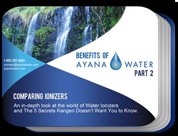 Benefits of ayana water